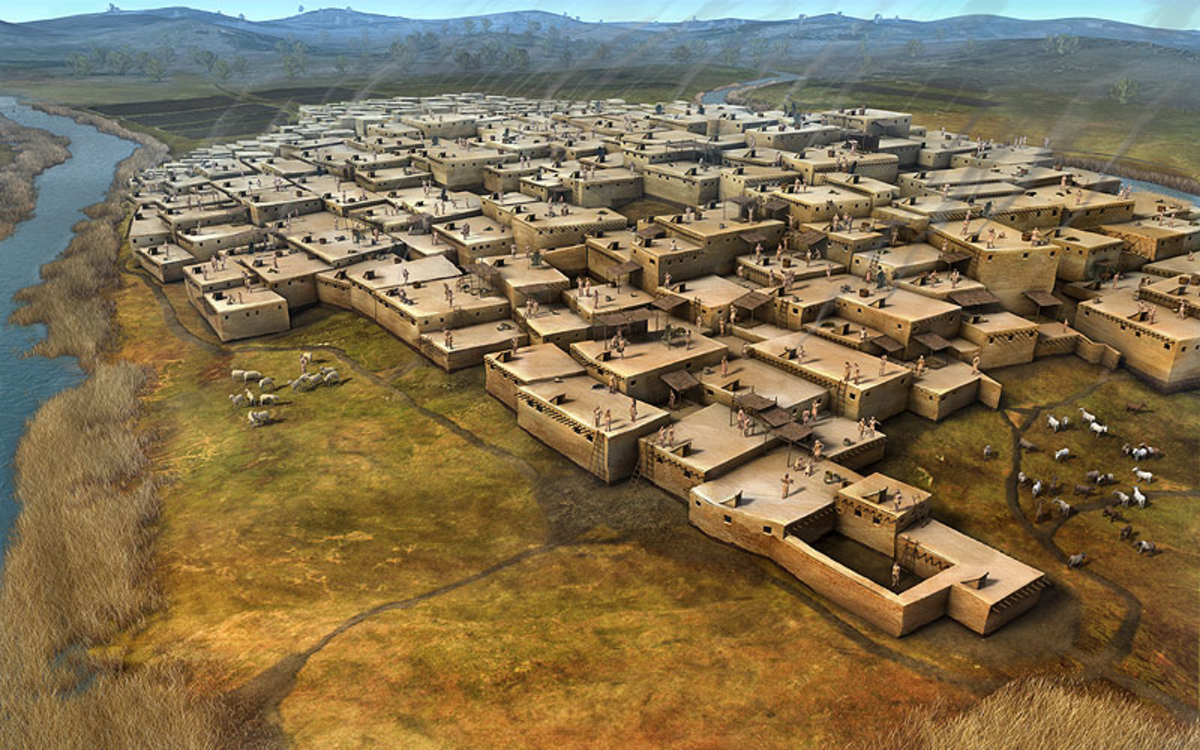 Catal Hoyuk: the First City