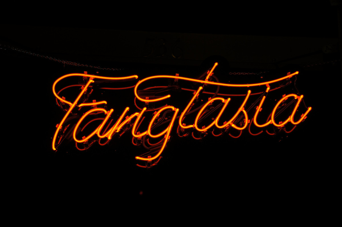 Get a neon bar light for your True Blood Halloween party and re-use it in the future for other Halloween parties!