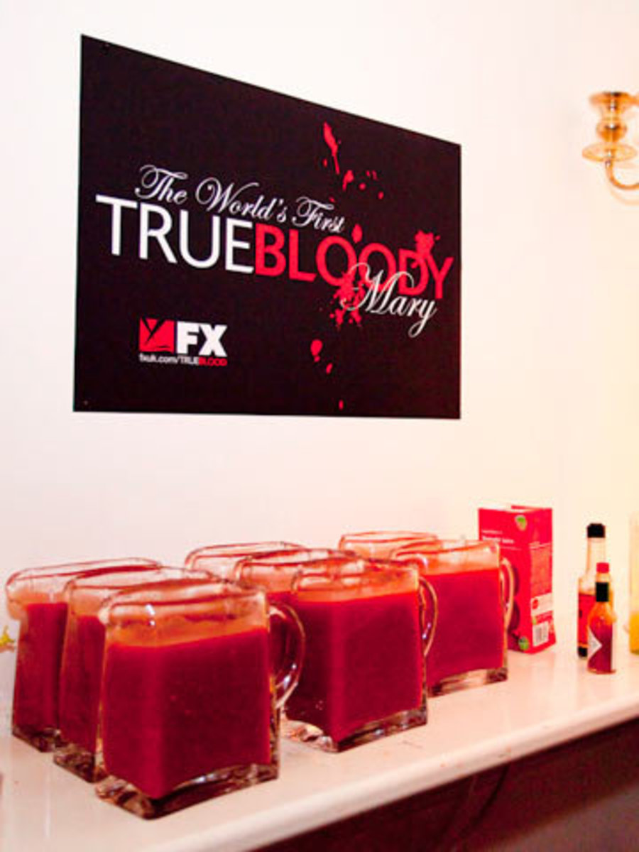 Bloody marys are a great drink for a True Blood party!