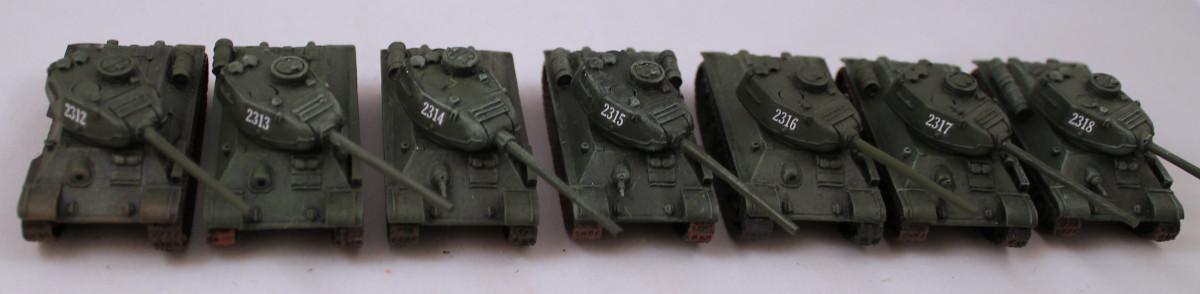 Russian T-34/85s
