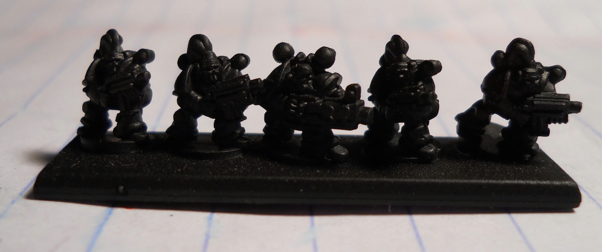 These figures are primed and ready to paint.