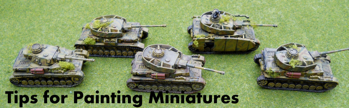 Tips for Painting Miniatures