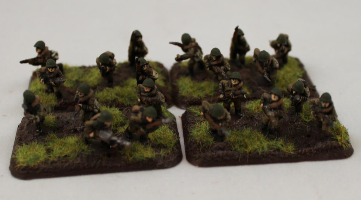 WWII Russian infantrymen