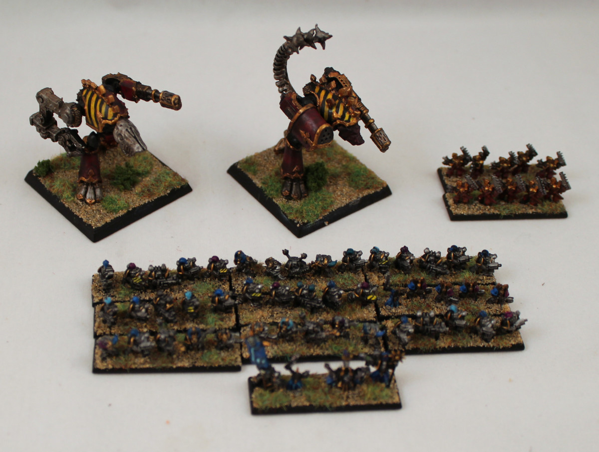 Warhammer Epic 40K Chaos army