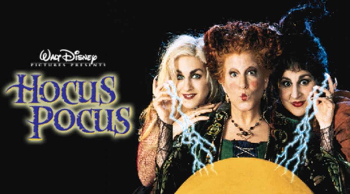 Hocus Pocus, the cult classic halloween movie of the 1990s.