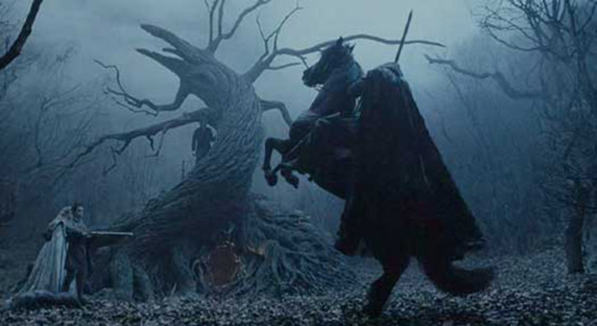 No halloween movie list would be complete without the headless horseman of Sleepy Hollow!