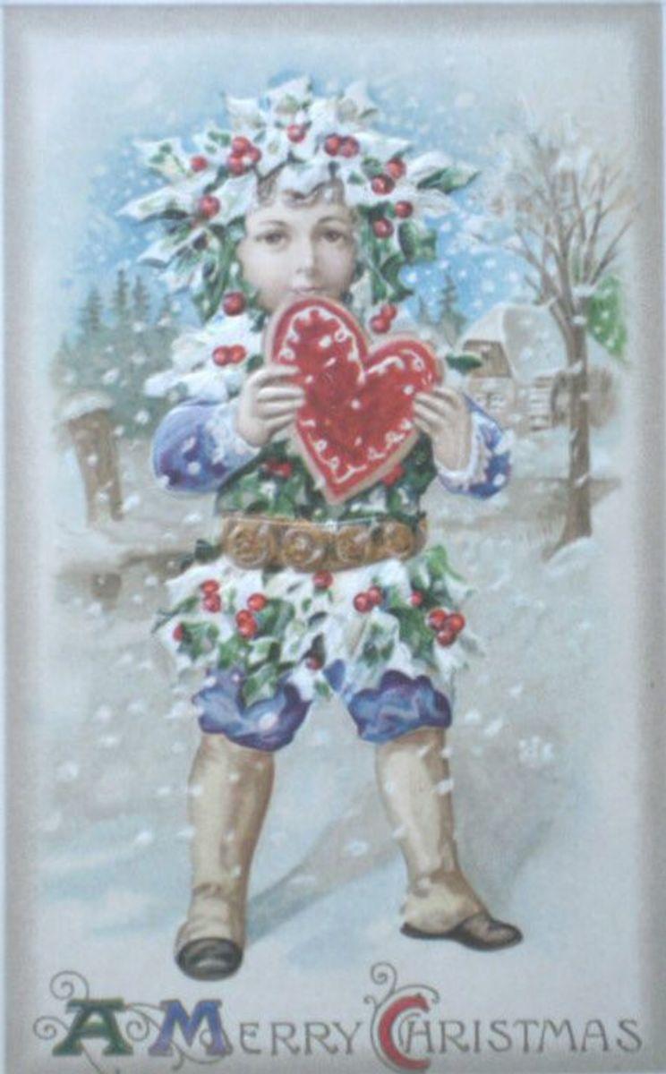 Christmas Snow Girl