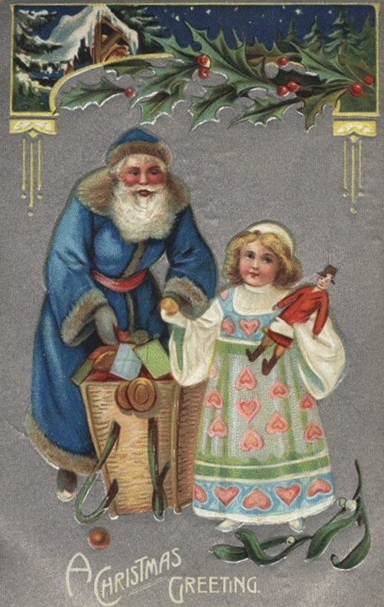 Blue St. Nick