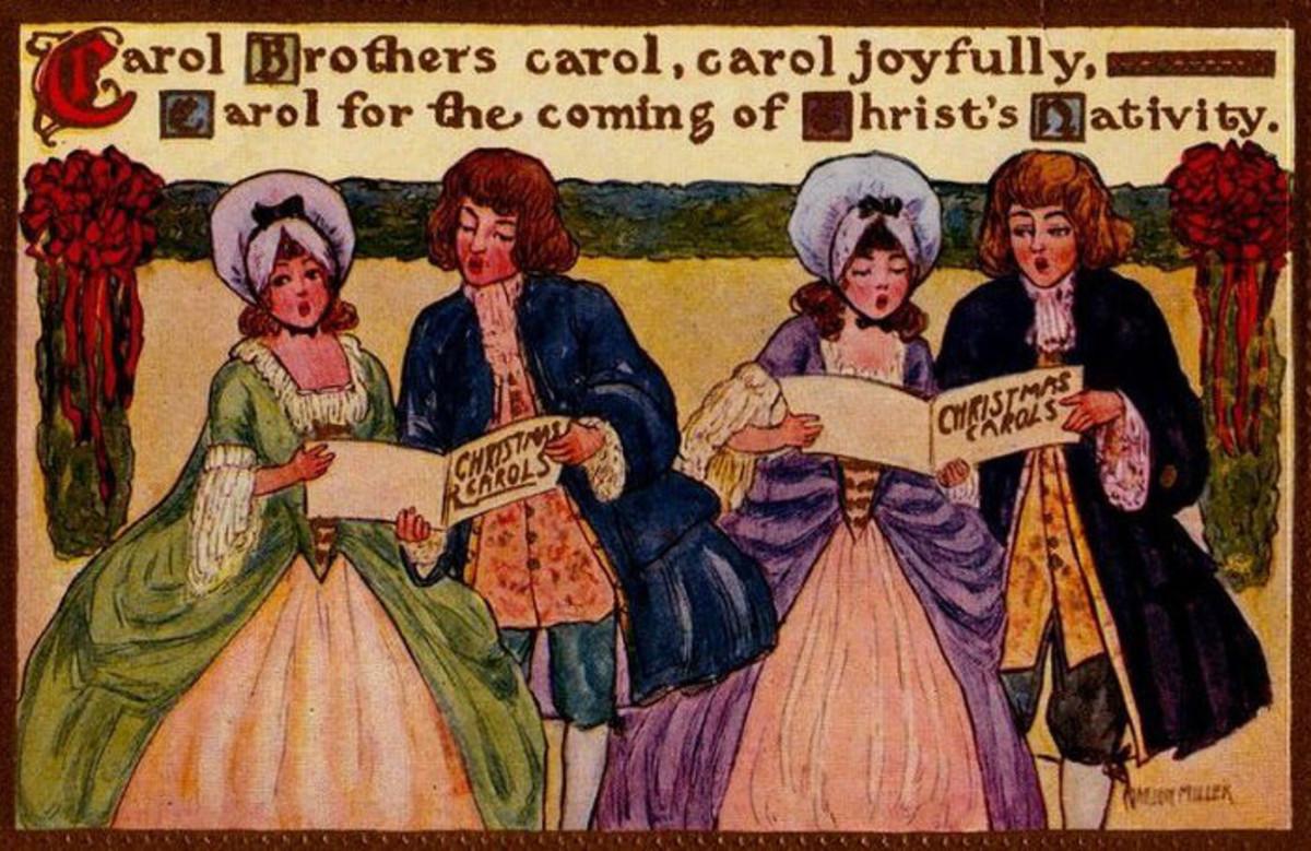 Colonial Carolers