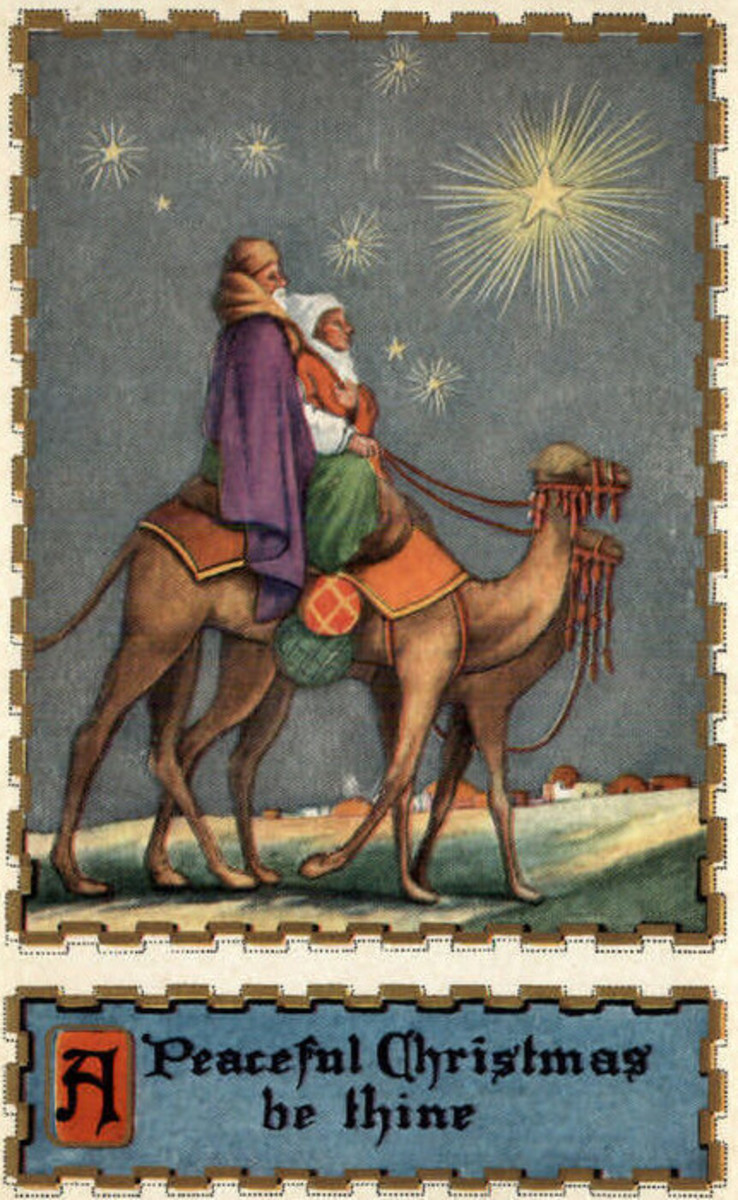 Wise Men Following Star