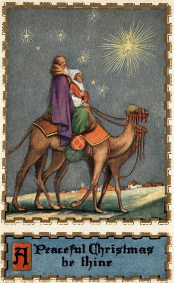 Wise Men Following Star
