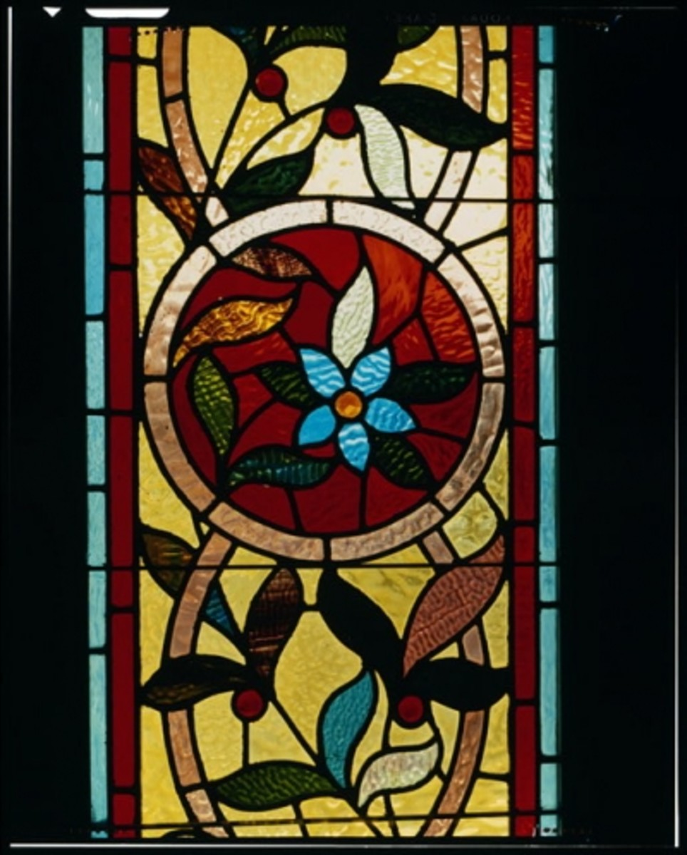 A Tiffany Window