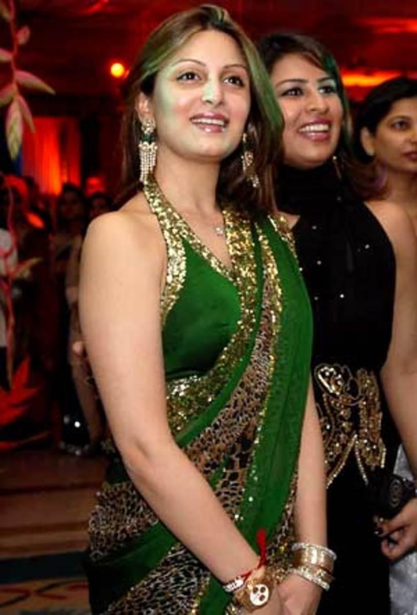 Green Sari Blouse