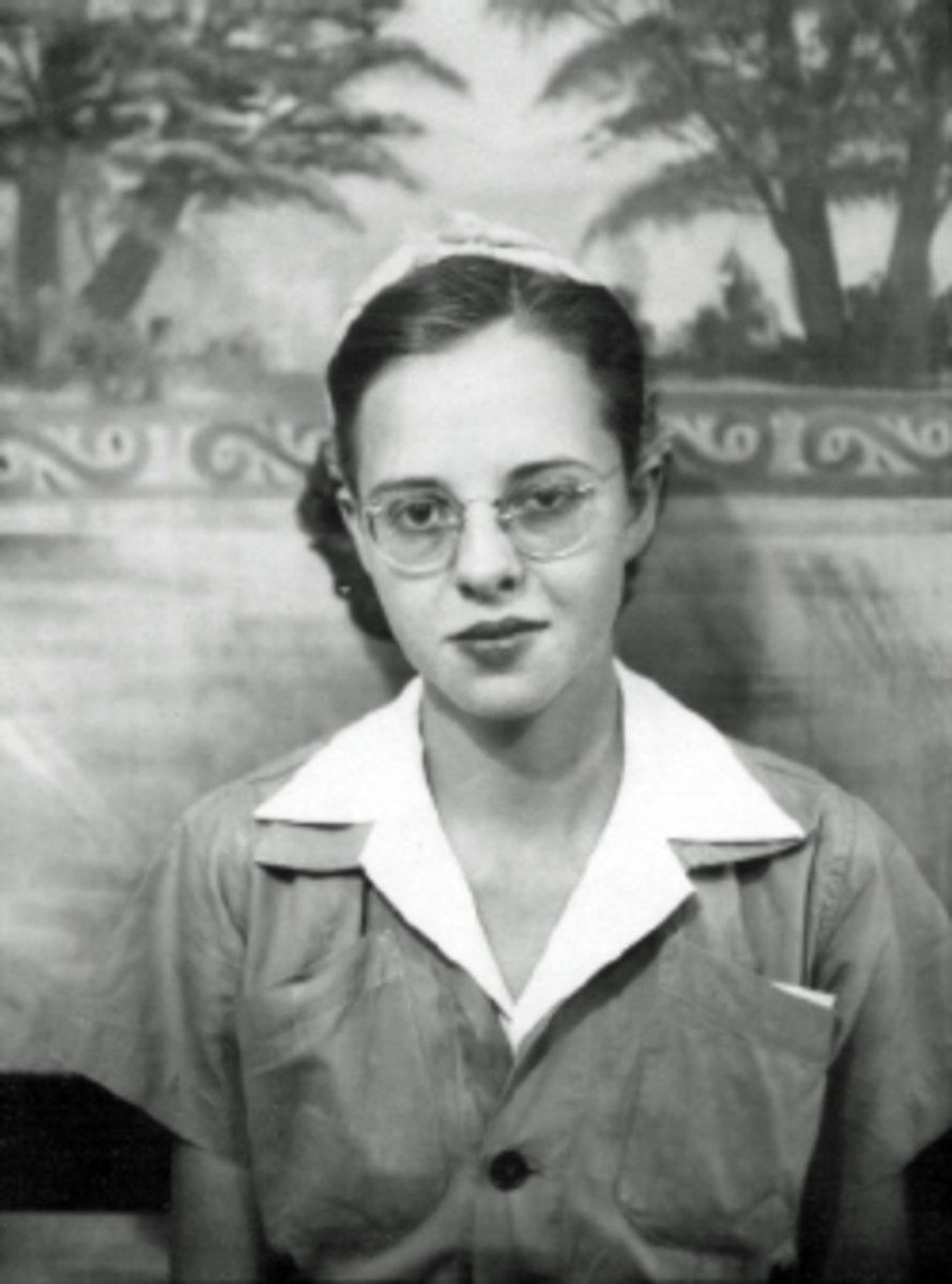 Gail Lee Martin in World War II