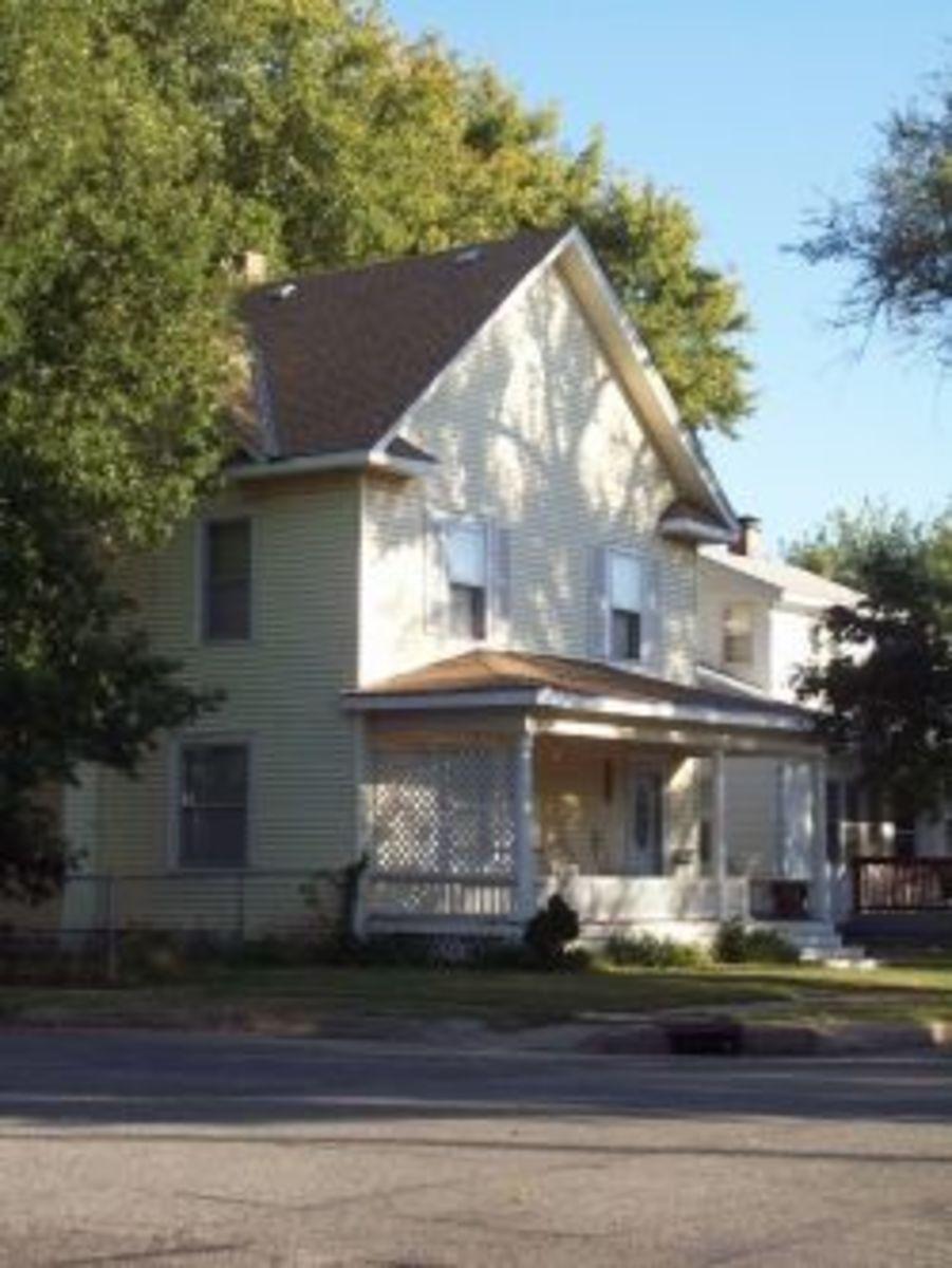 WWII era house Wichita KS