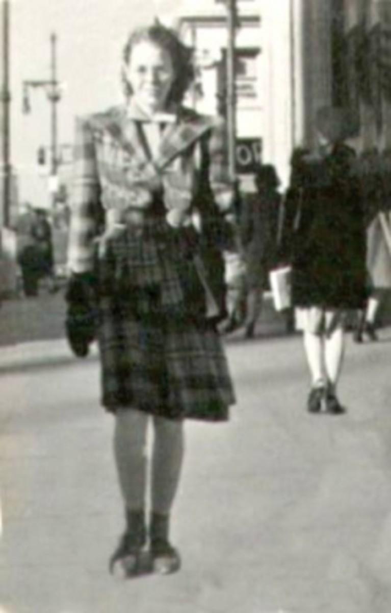 Gail Lee Martin McGhee Wichita Kansas street scene