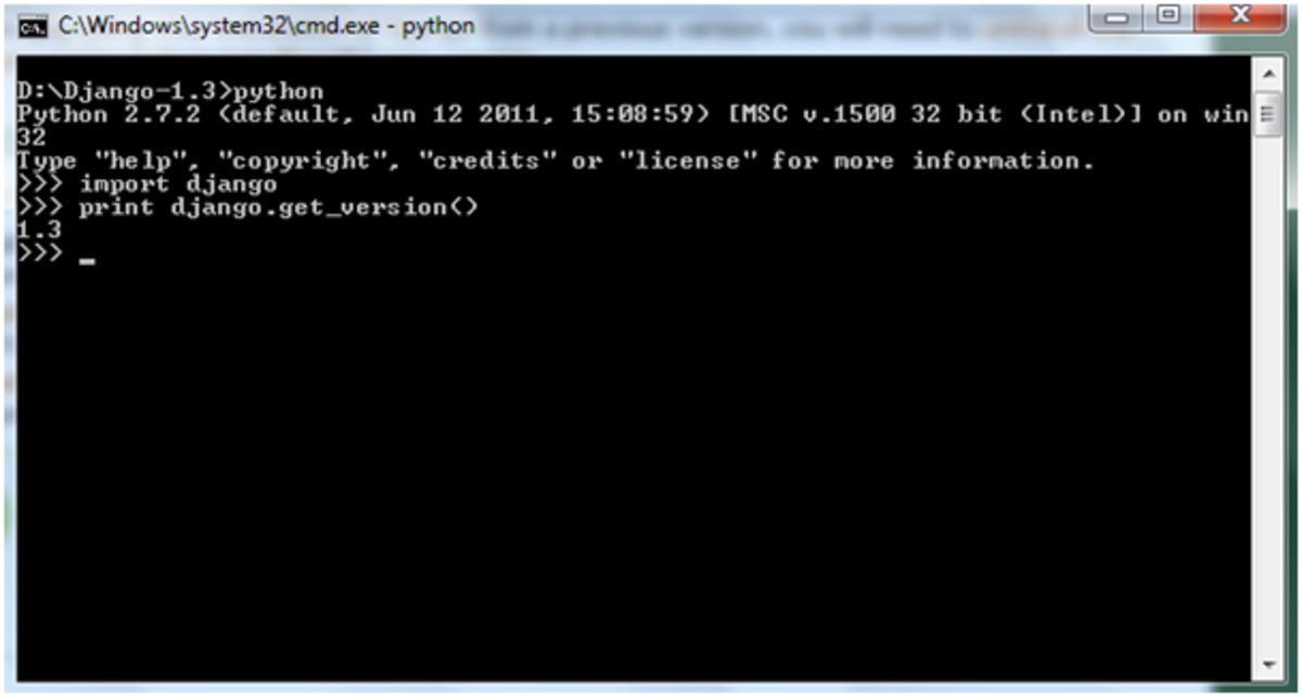 installing-django-on-xampp-webserver