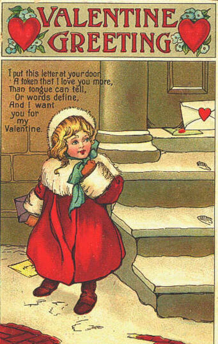 Victorian Valentine Greeting
