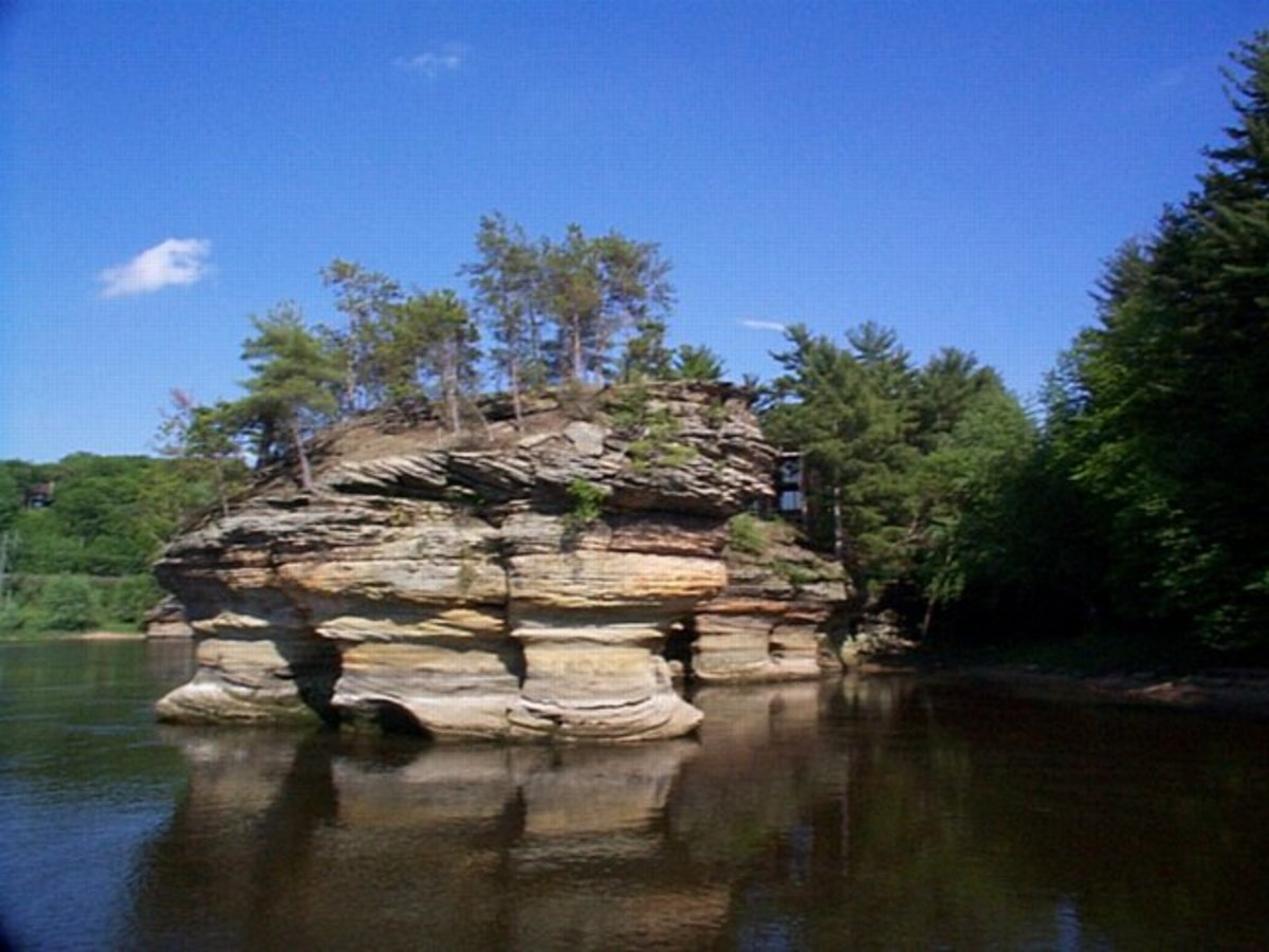 Wisconsin River at the Dells
