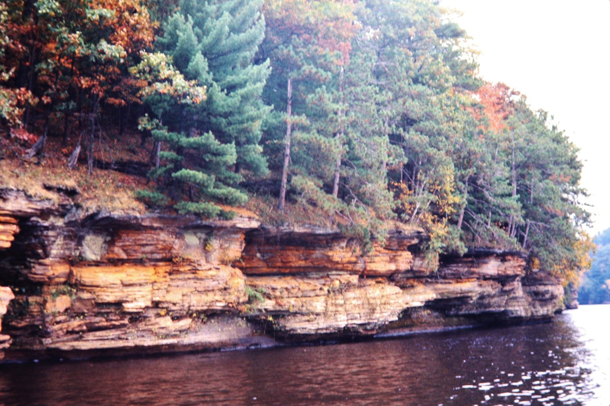 Fall colors at Wisconsin Dells
