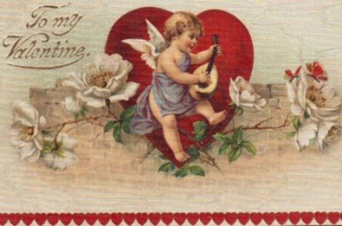 Cupid Red Heart Serenade