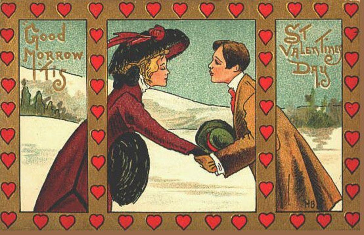 Art Nouveau Couple