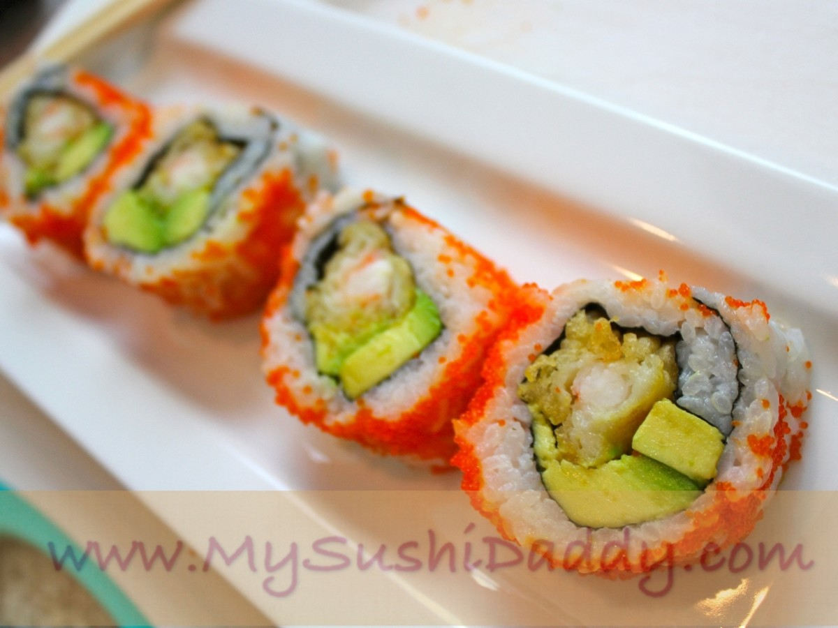 How To Make A Mexican Sushi Roll Masago