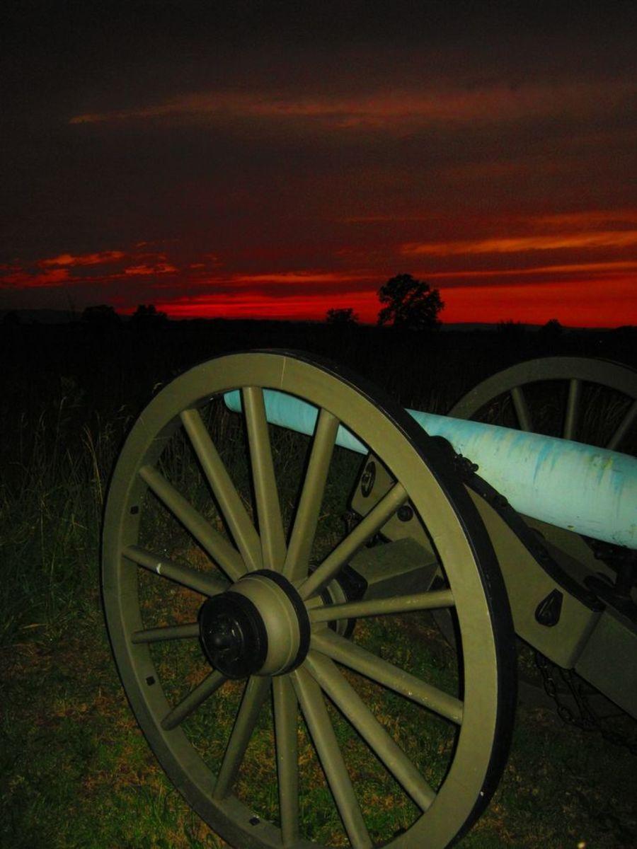 Evening At Gettysburg
