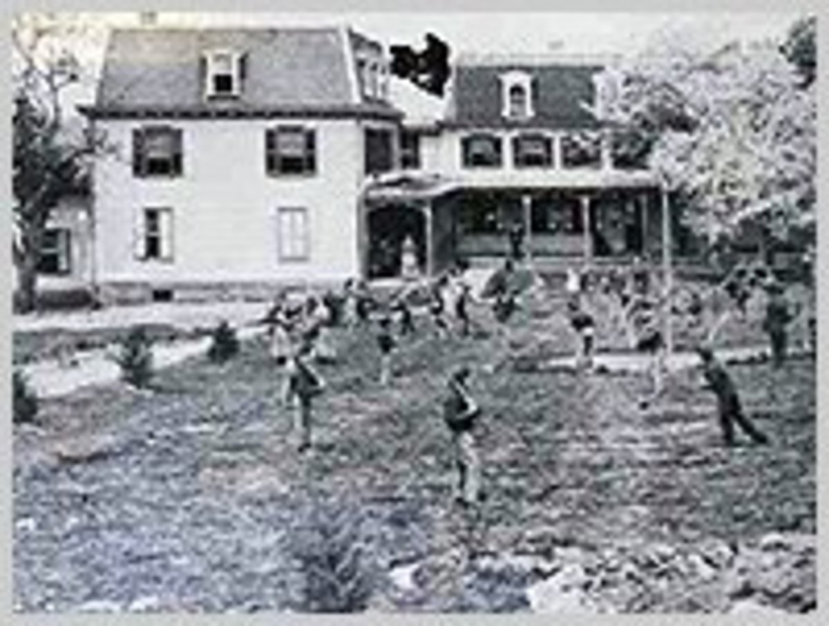 The Soldiers' Orphanage  near the Gettysburg Battlefield
