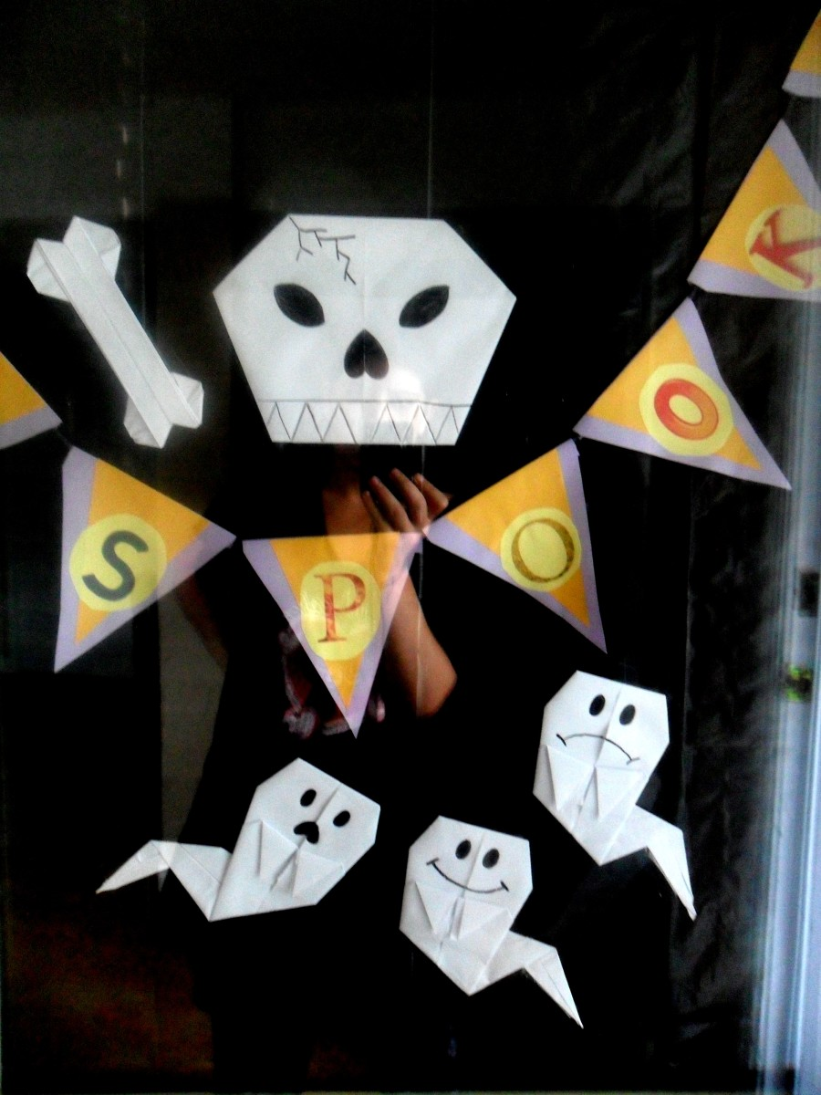 An Origami Halloween - Decoration Ideas
