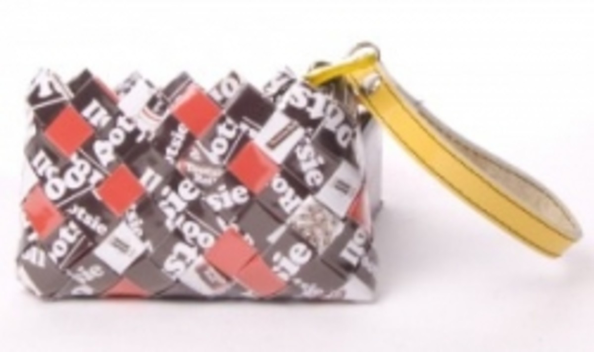 Tootsie Roll Wrapper Purse