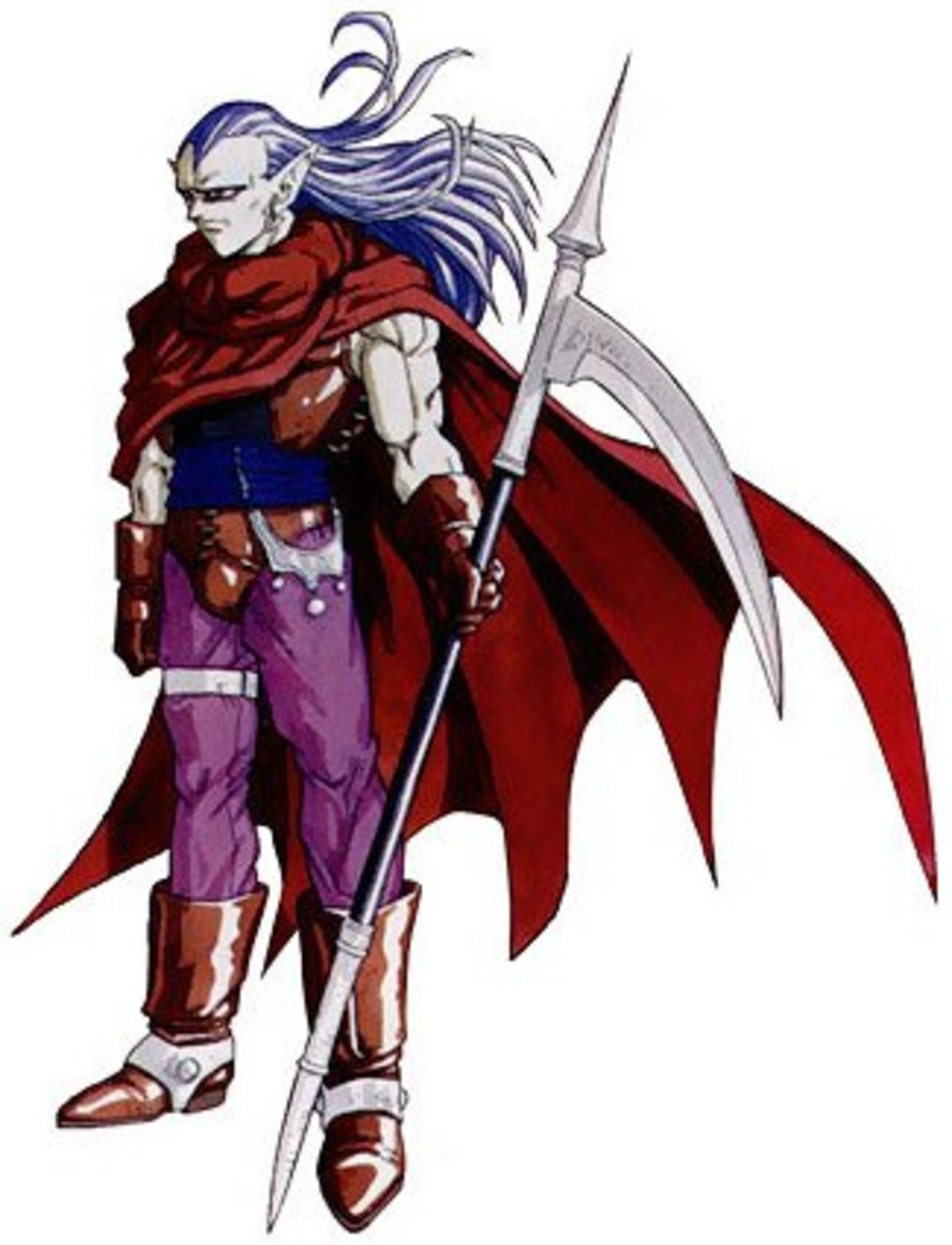 I never used Magus as a pure spellcaster in Chrono Trigger. Soloing Lavos with his ultimate equipment was fun!