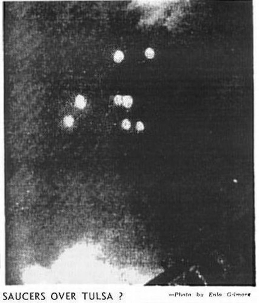 The Tulsa Oklahoma UFO Sighting - July 12, 1947