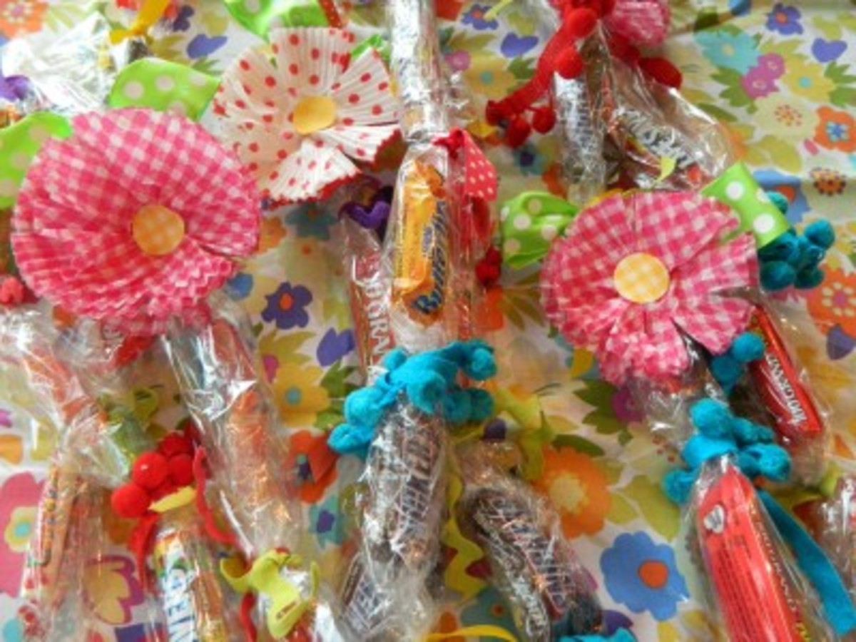 A candy lei is a sweet treat that you can wear!!
