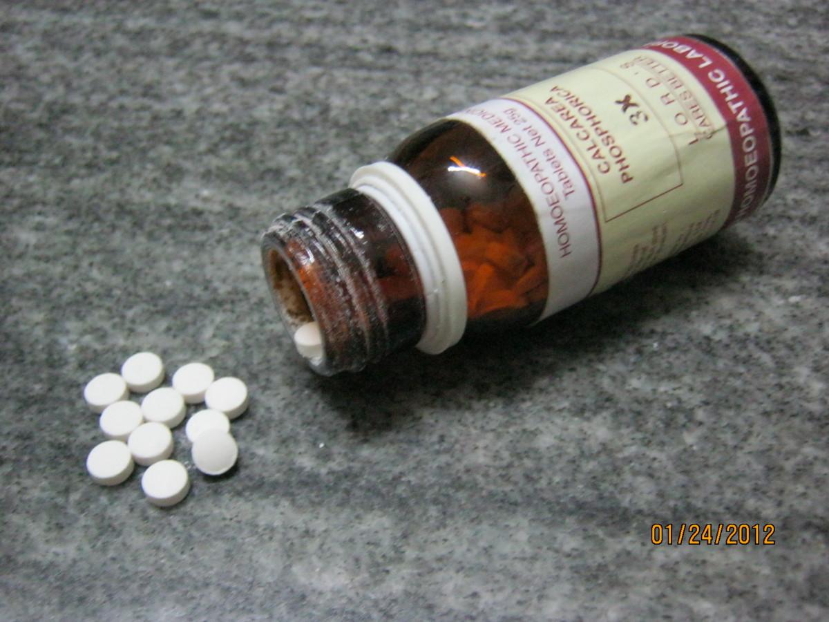 Tissue salt as tablets