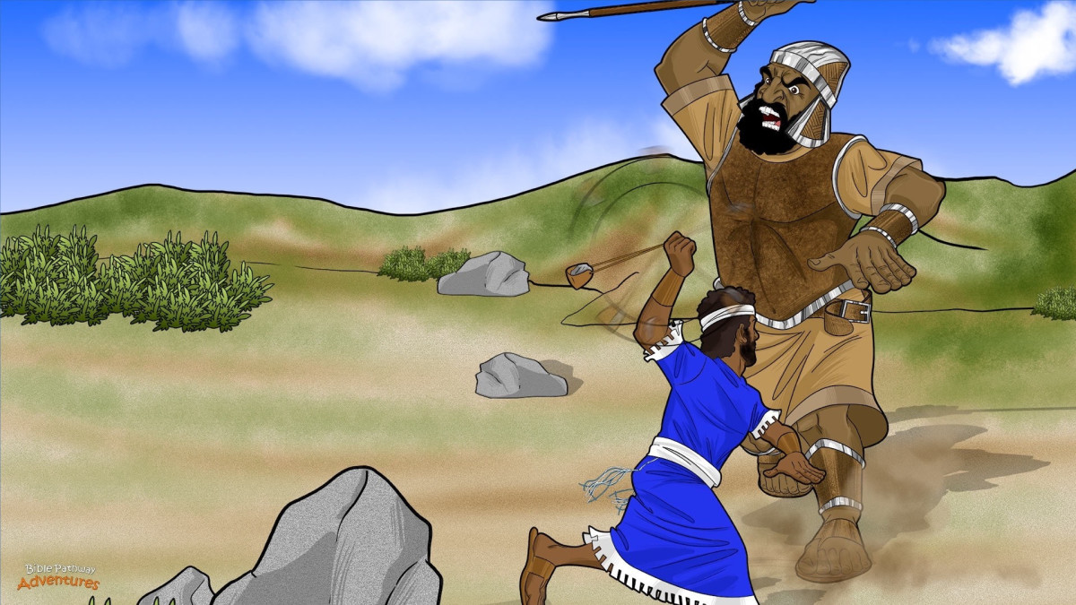 The story of David and Goliath is an exciting story and there are many lessons to be learned in it.