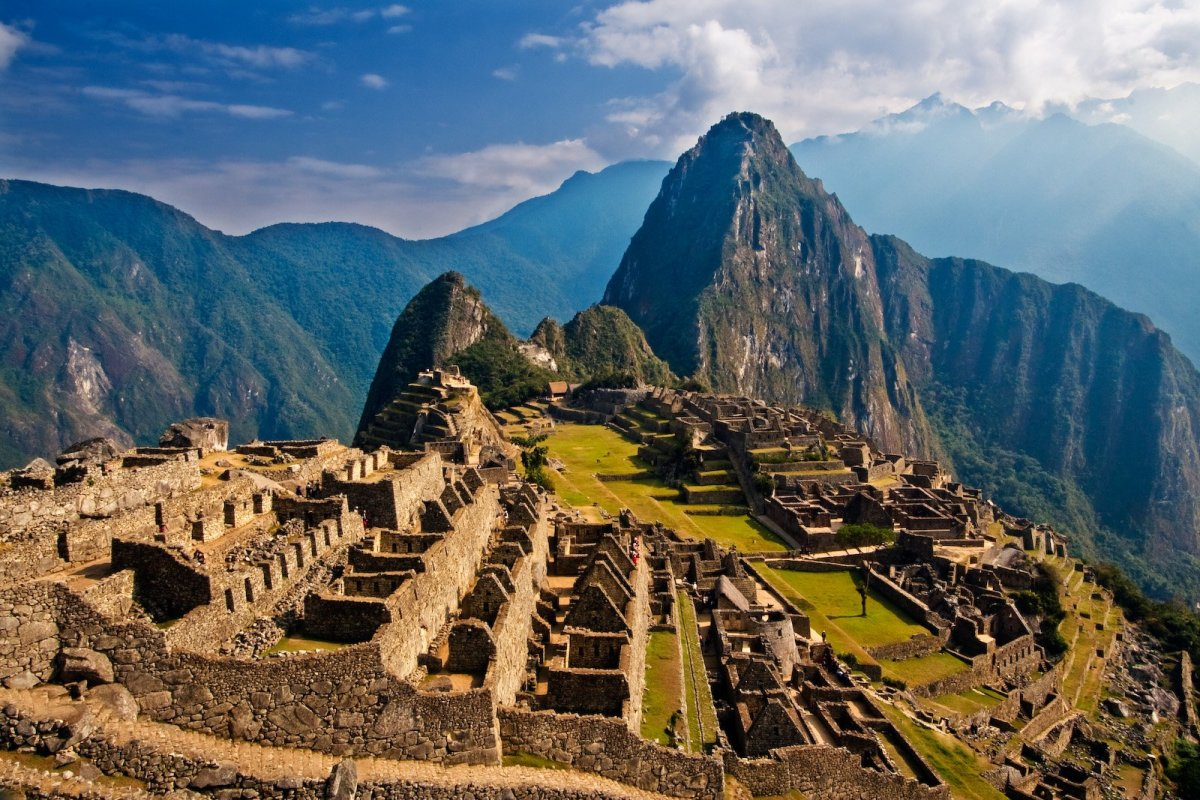 Wouldn't you love to go back in time and live in Machu Picchu? Truly exotic!