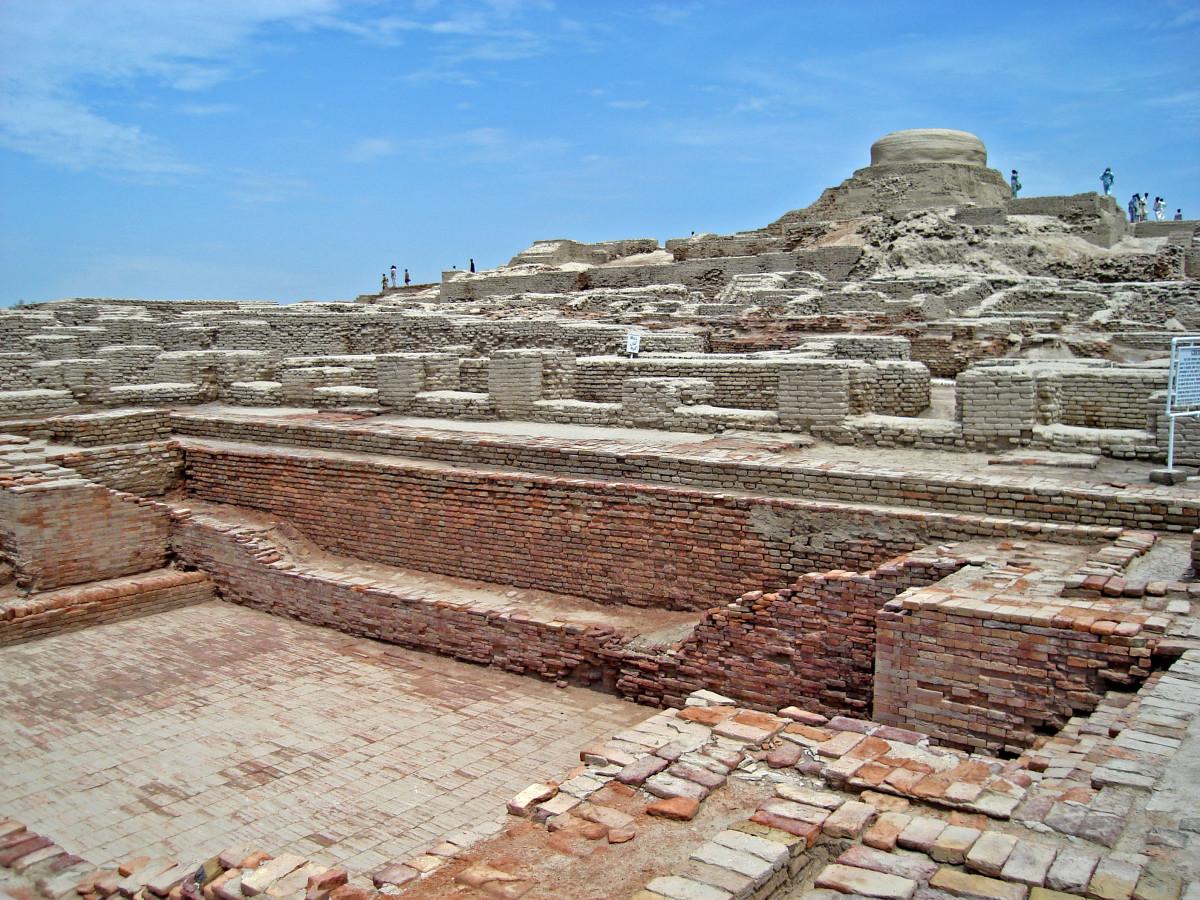 Mohenjo daro excavation site
