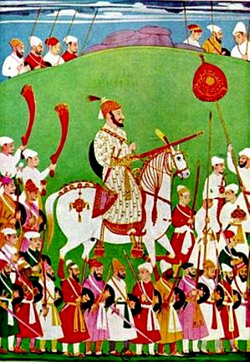 Rare Paintings of Shivaji Maharaj