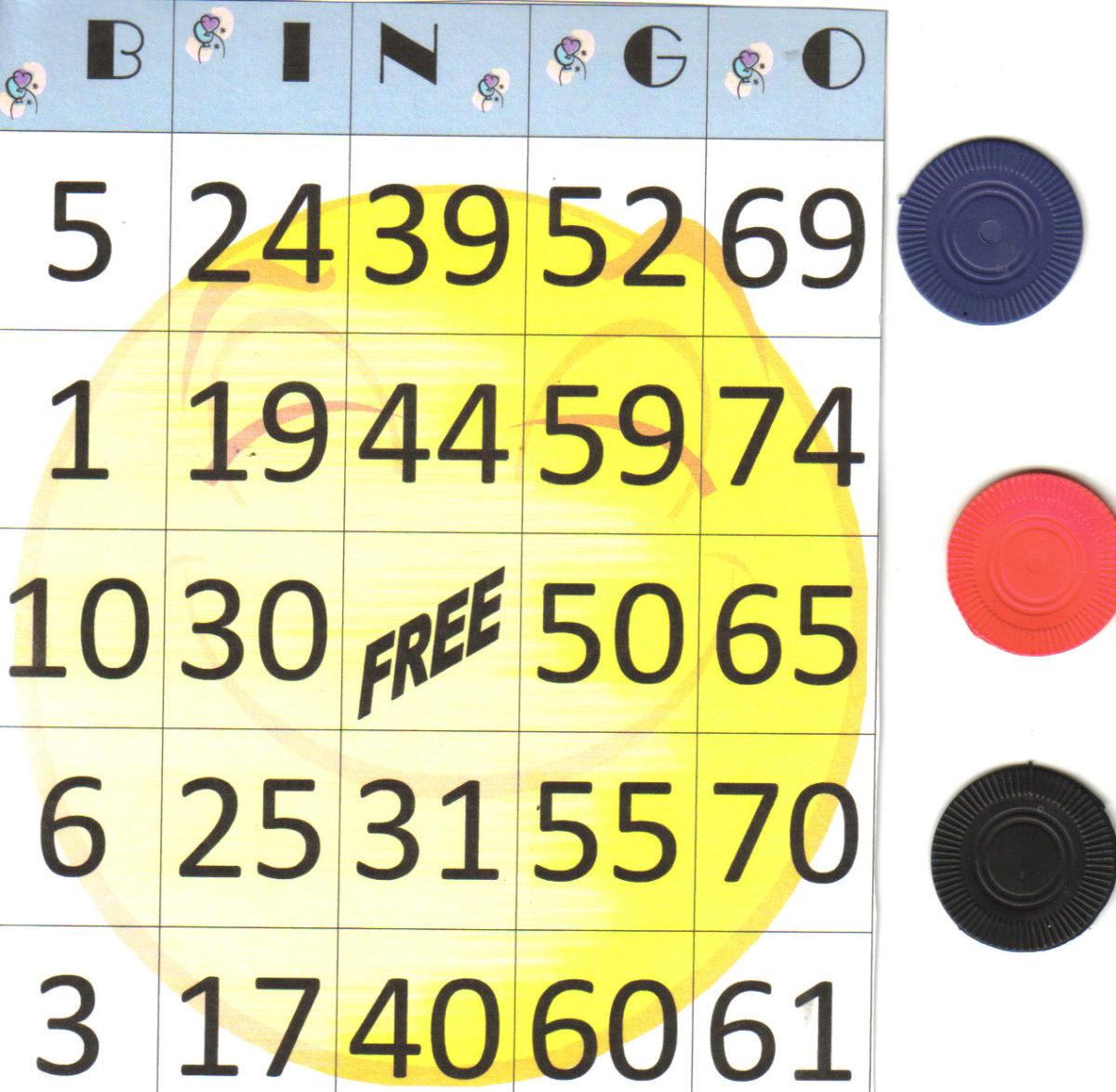Create your own Bingo cards.
