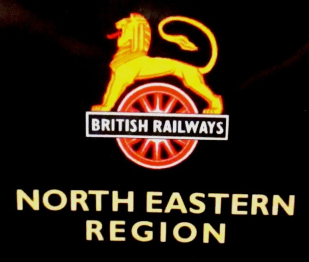 From 1948 this was the totem of British Railways' North Eastern Region - corresponded with the former pre-Grouping North Eastern Railway