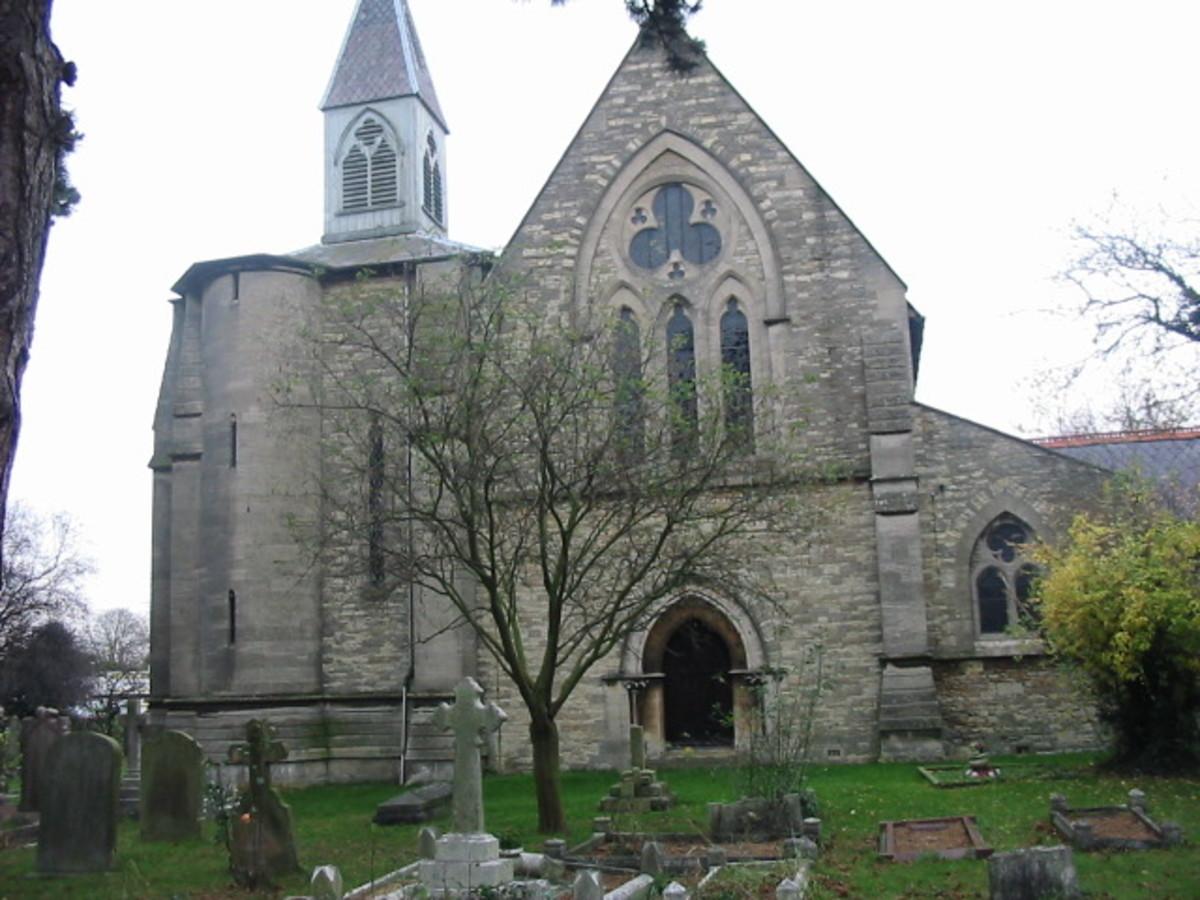St. James Church, New Bradwell, Milton Keynes, Buckinghamshire, England