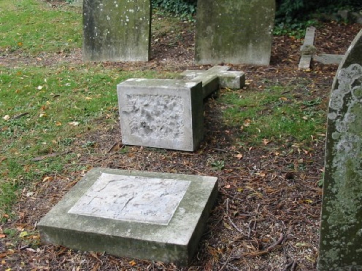 Harriet Lawrence, died 22 June 1905, buried in St. Peter & St. Pauls Church, Newport Pagnell, Buckinghamshire