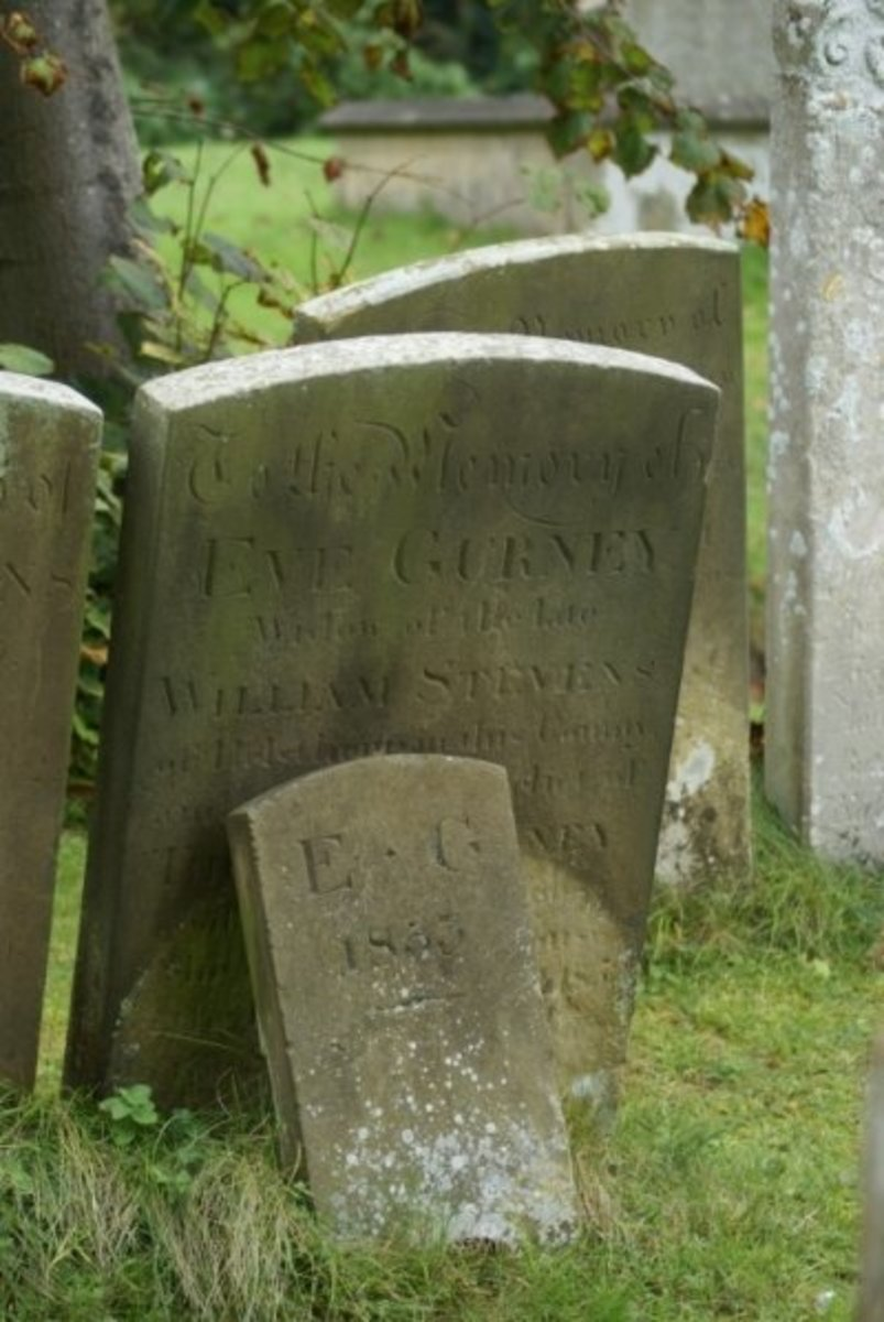 Eve Gurney died 1853