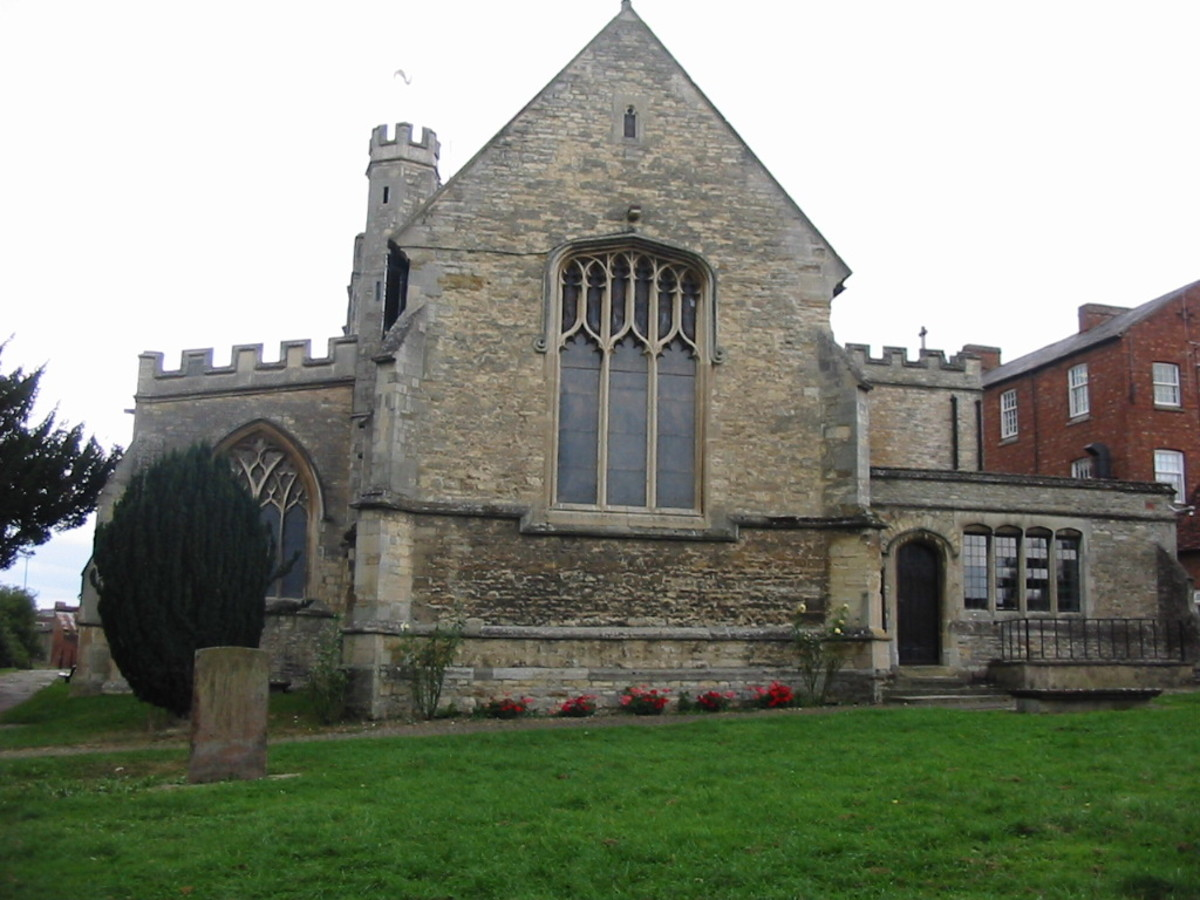 St. Peter and St. Paul's Church, Newport Pagnell - although this is in Bedfordshire it is a minute away from the Buckinghamshire border.