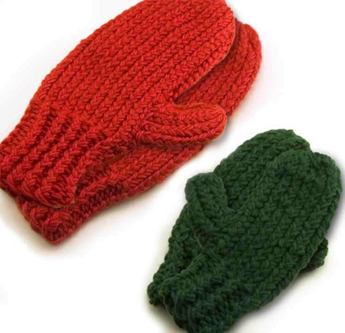 Knifty Knitter Mitten Patterns