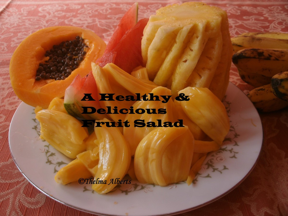 Papaya, Watermelon, Pineapple, Jackfruits and Bananas