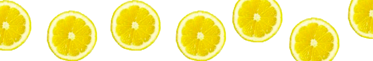 Lemons - great to disinfect, remove stains and they simply smell wonderful!