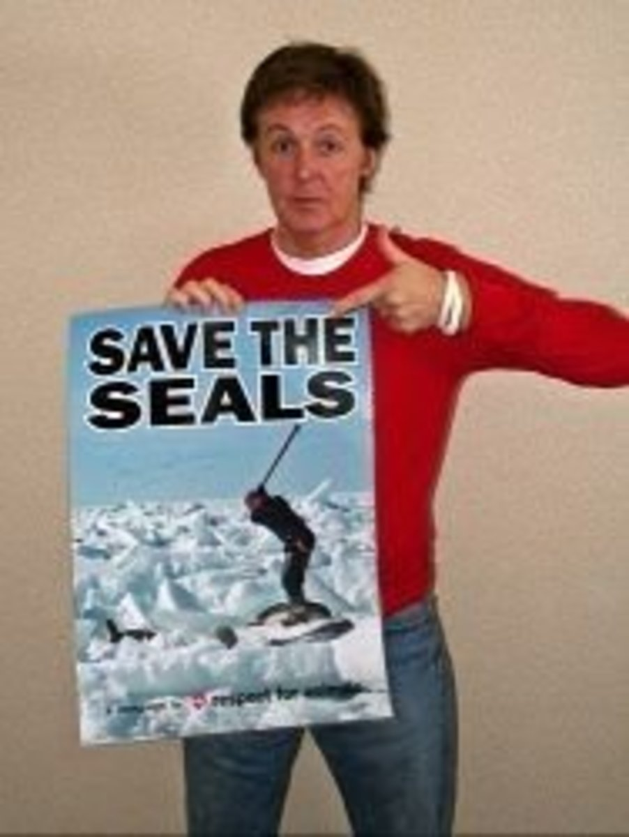 Sir Paul McCartney - Save the Seals