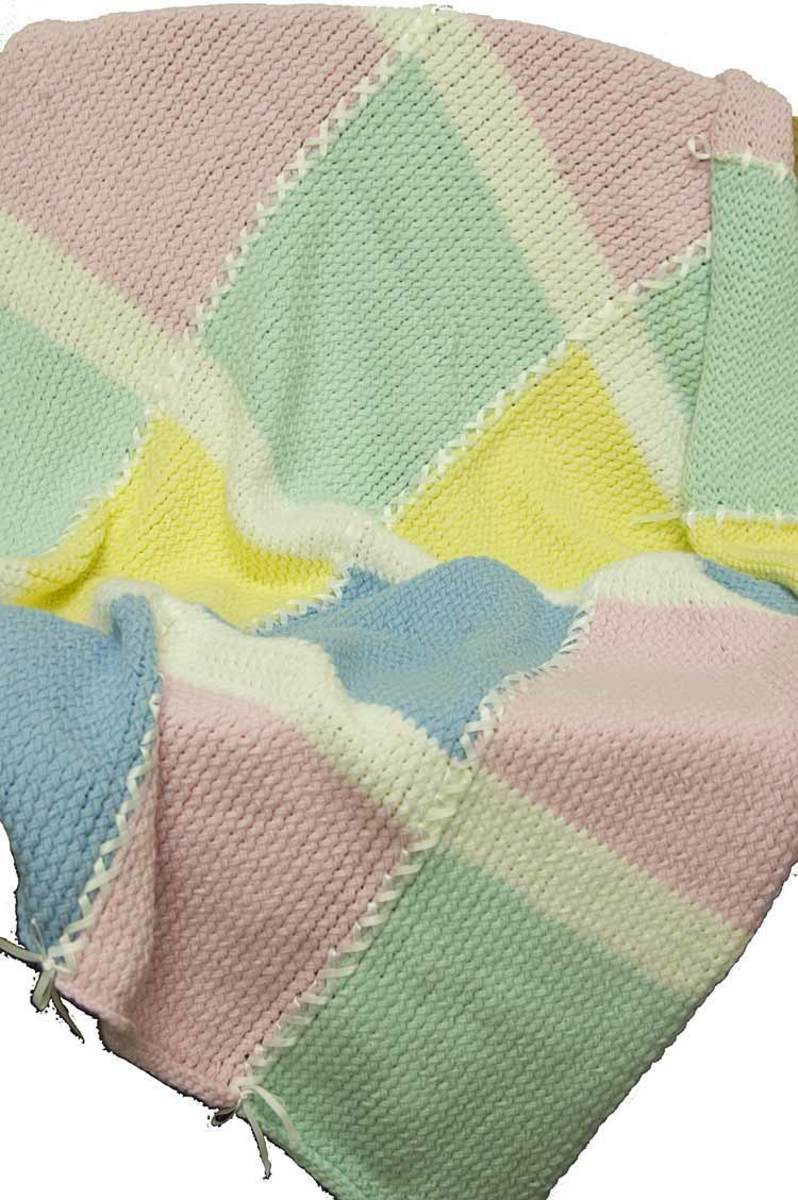 Knifty Knitter Baby Afghan Pattern